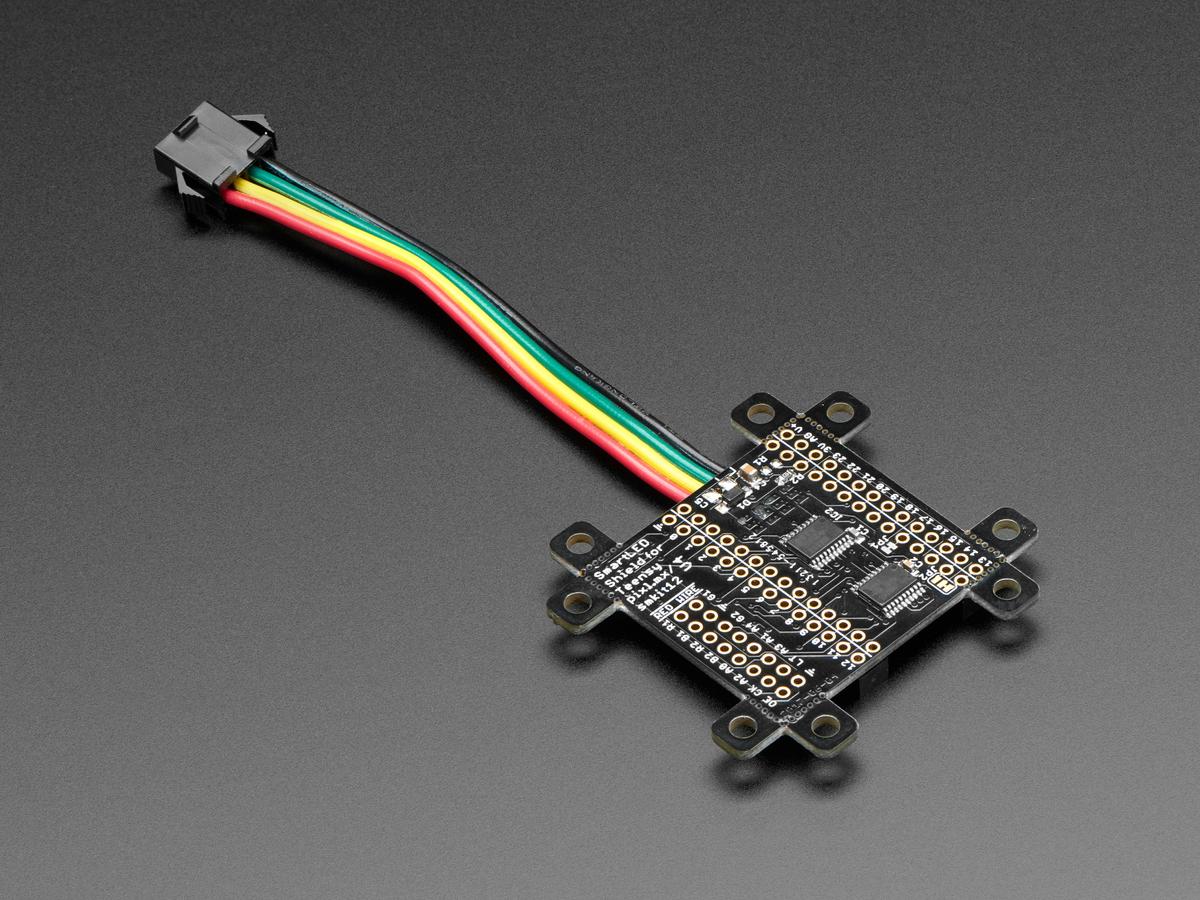 Smartmatrix Shield Led Display Driver Circuit Design With Total Positive Based On Smartled
